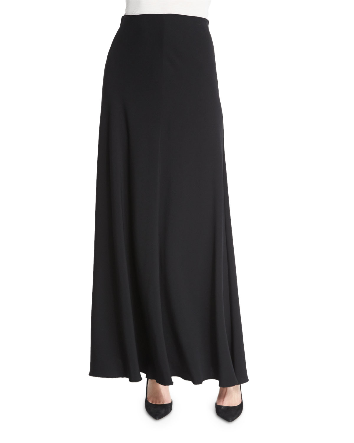 the row frol a line maxi skirt in black lyst