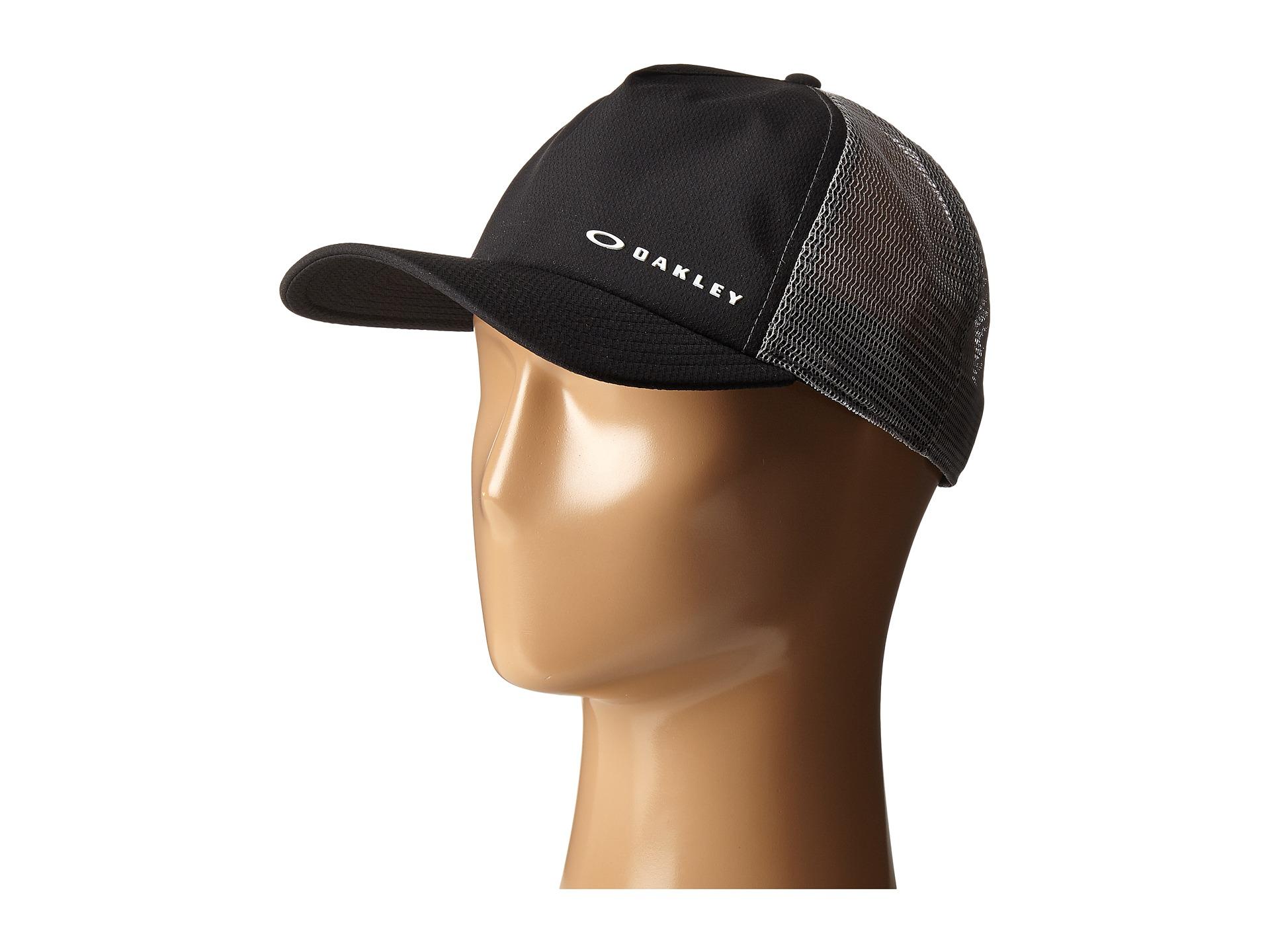 ... canada lyst oakley k 38 hydrofree trucker hat in black for men 341ff  04519 6e6fd25d10f