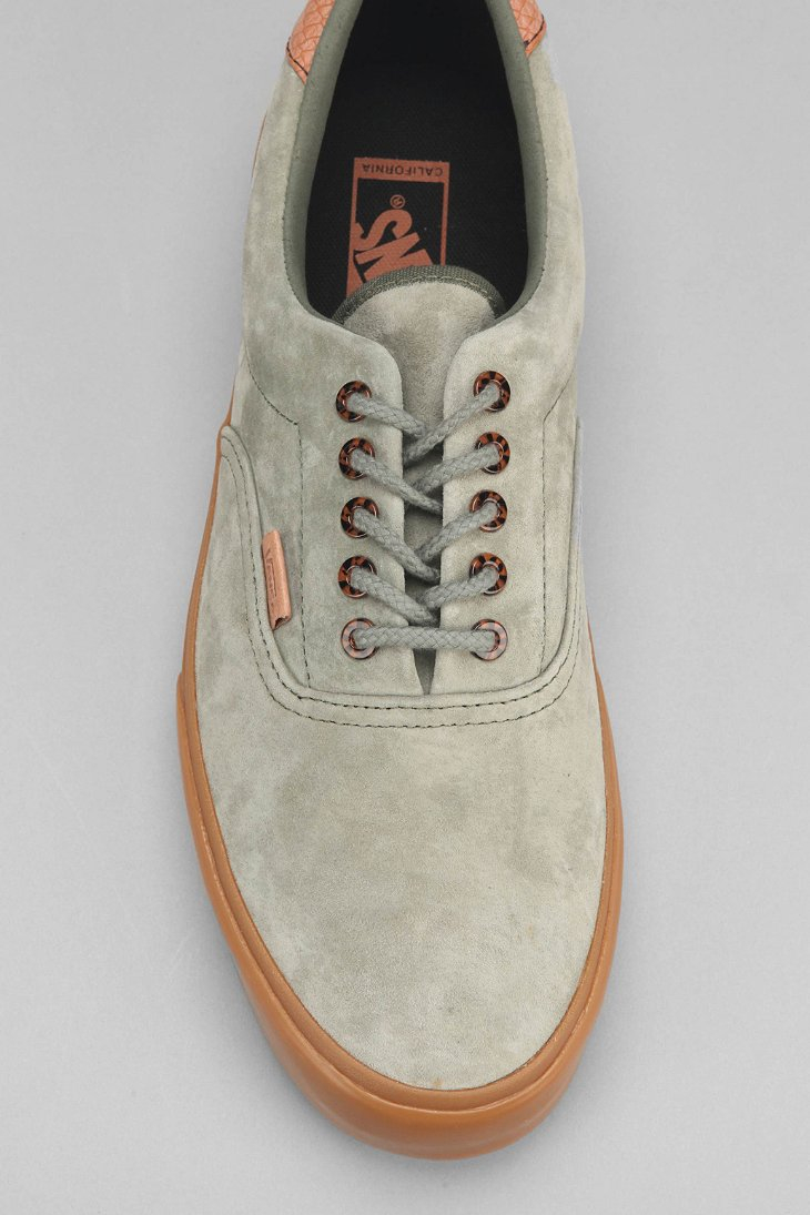 4ee3a271a2 Lyst - Vans Era 59 California Suede Gum-Sole Men S Sneaker in Green ...
