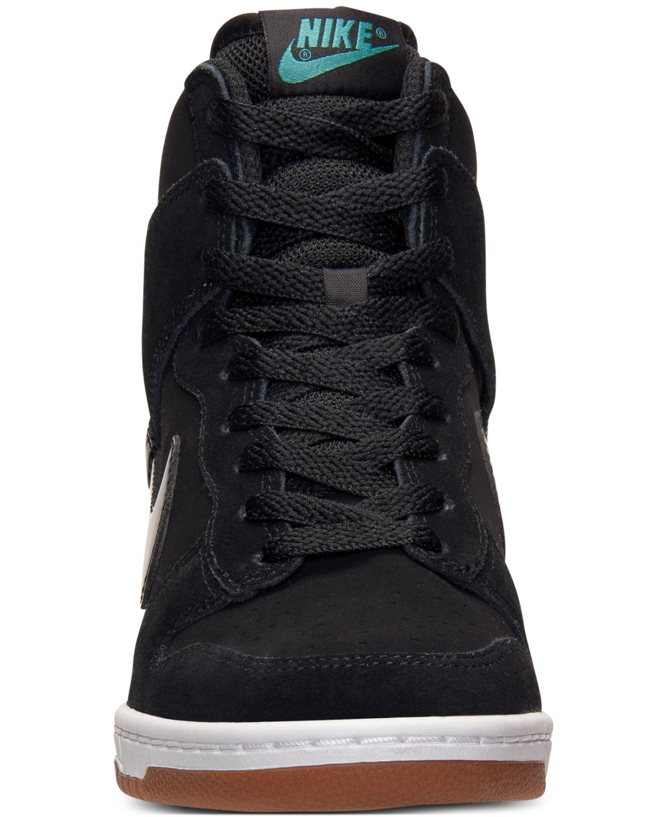cheap for discount a0c46 73d50 Previously sold at Macys · Womens Nike Dunk Sky Hi .