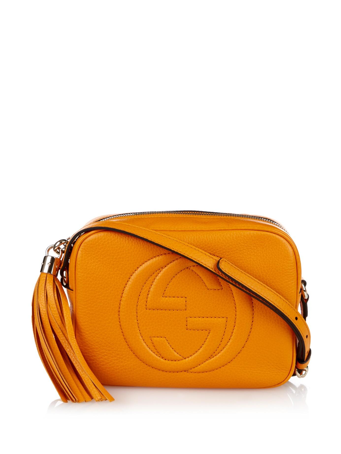 Soho Grained Leather Cross Body Bag