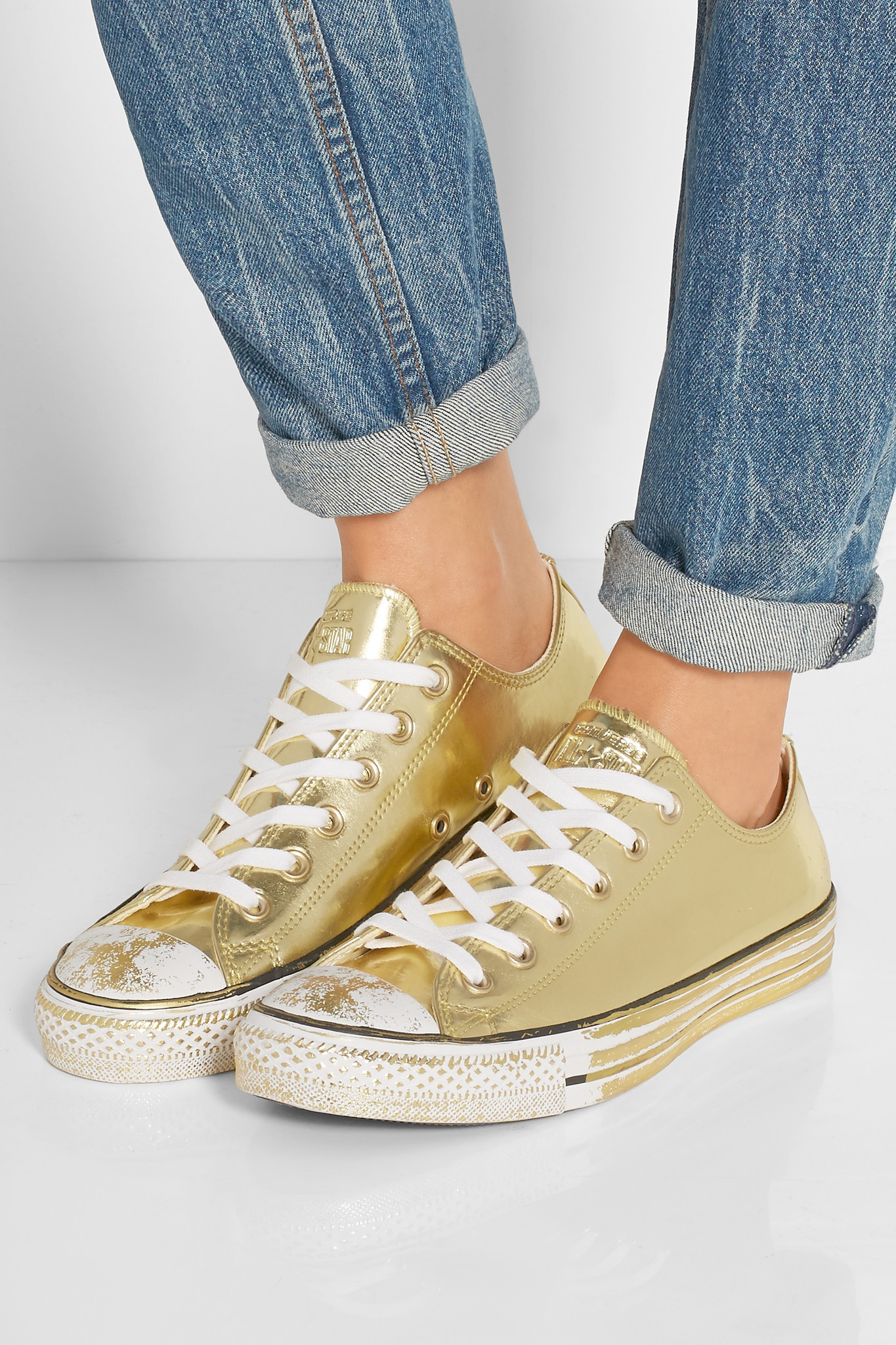 Converse Chuck Taylor All Star Chrome Metallic Leather