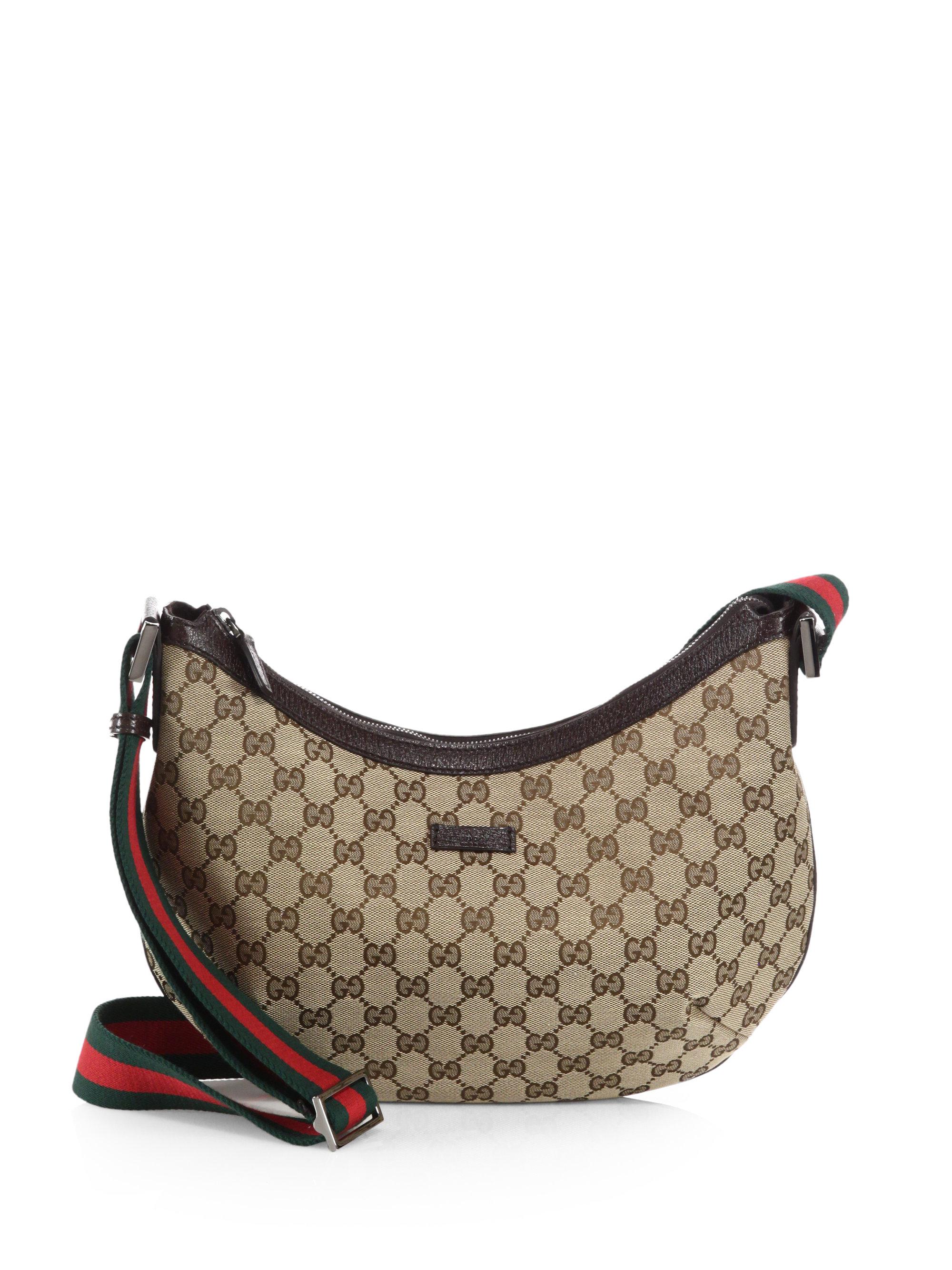 Lyst Gucci Original Gg Canvas Messenger Bag In Brown