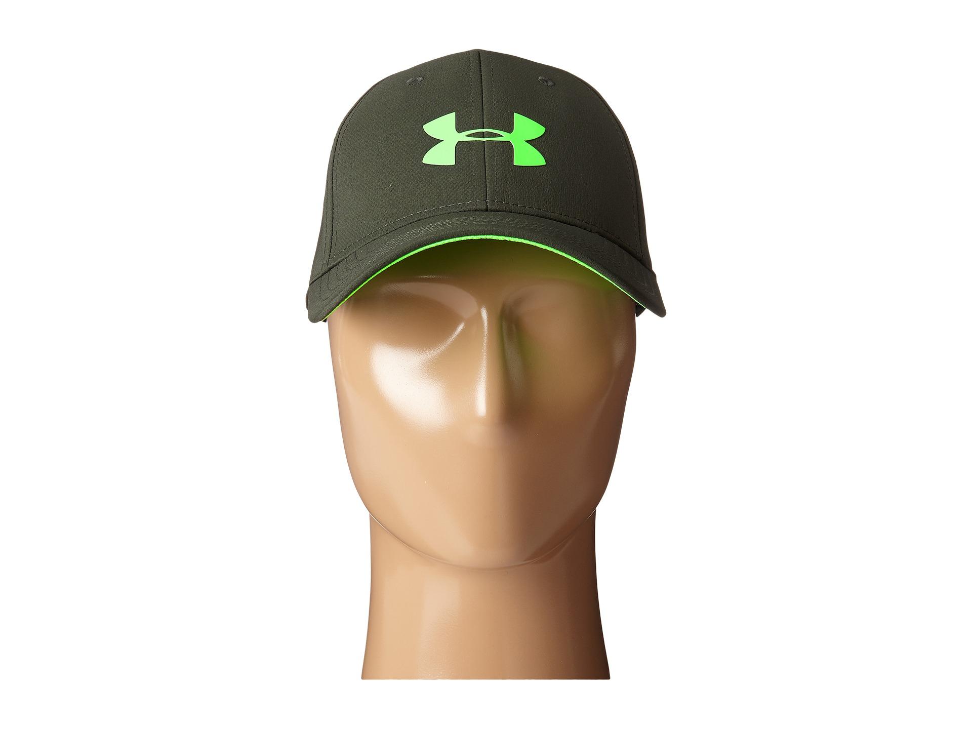 Lyst - Under Armour Ua Headline Stretch Fit Cap in Green for Men 964cb4e51fb