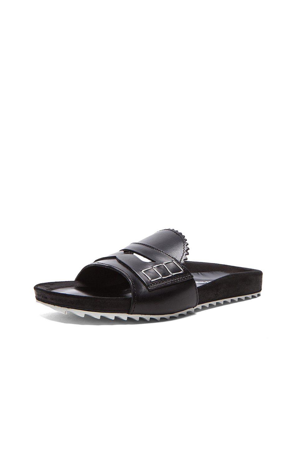 BAND OF OUTSIDERS Leather Sandal aXq5hp0qg