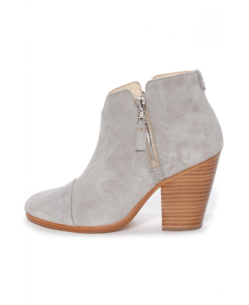 b7bda25efe7f2 Rag & Bone Light Grey Margot Boot in Gray - Lyst