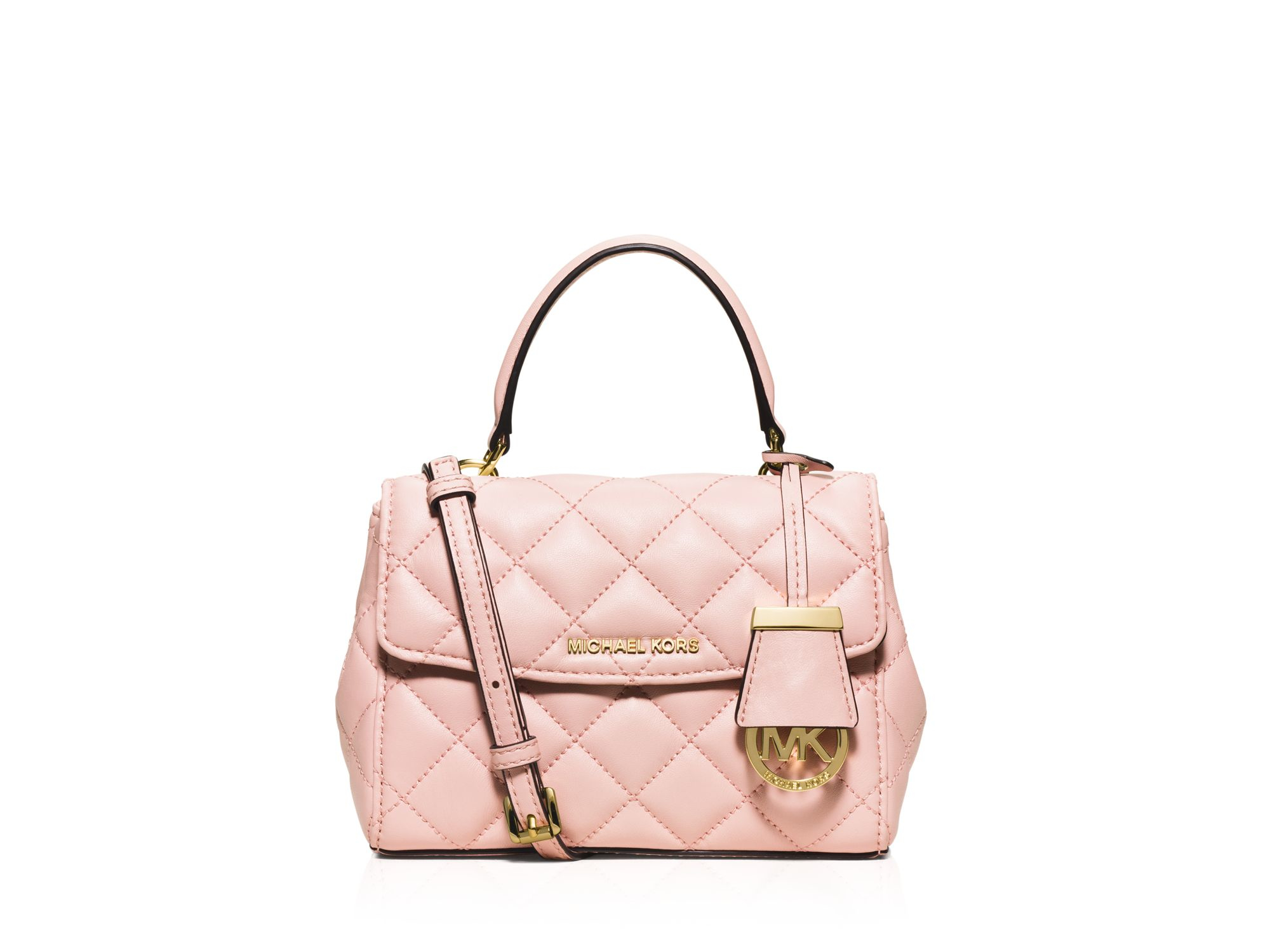 937c1588a4f7 Gallery. Previously sold at  Bloomingdale s · Women s Michael Kors Quilted  Bag ...