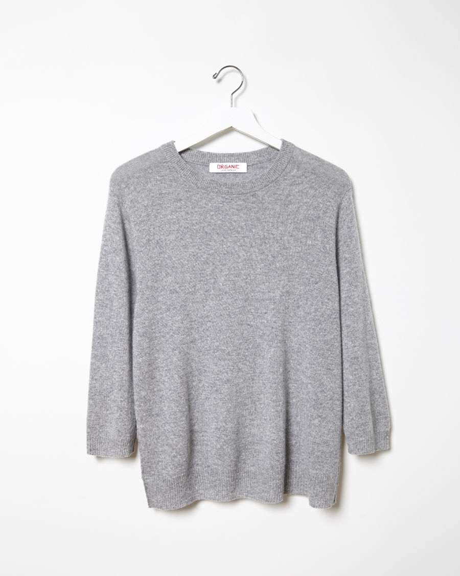cropped crew neck pullover - White Organic By John Patrick Many Kinds Of Cheap Price Marketable Cheap Price YmLgT2f