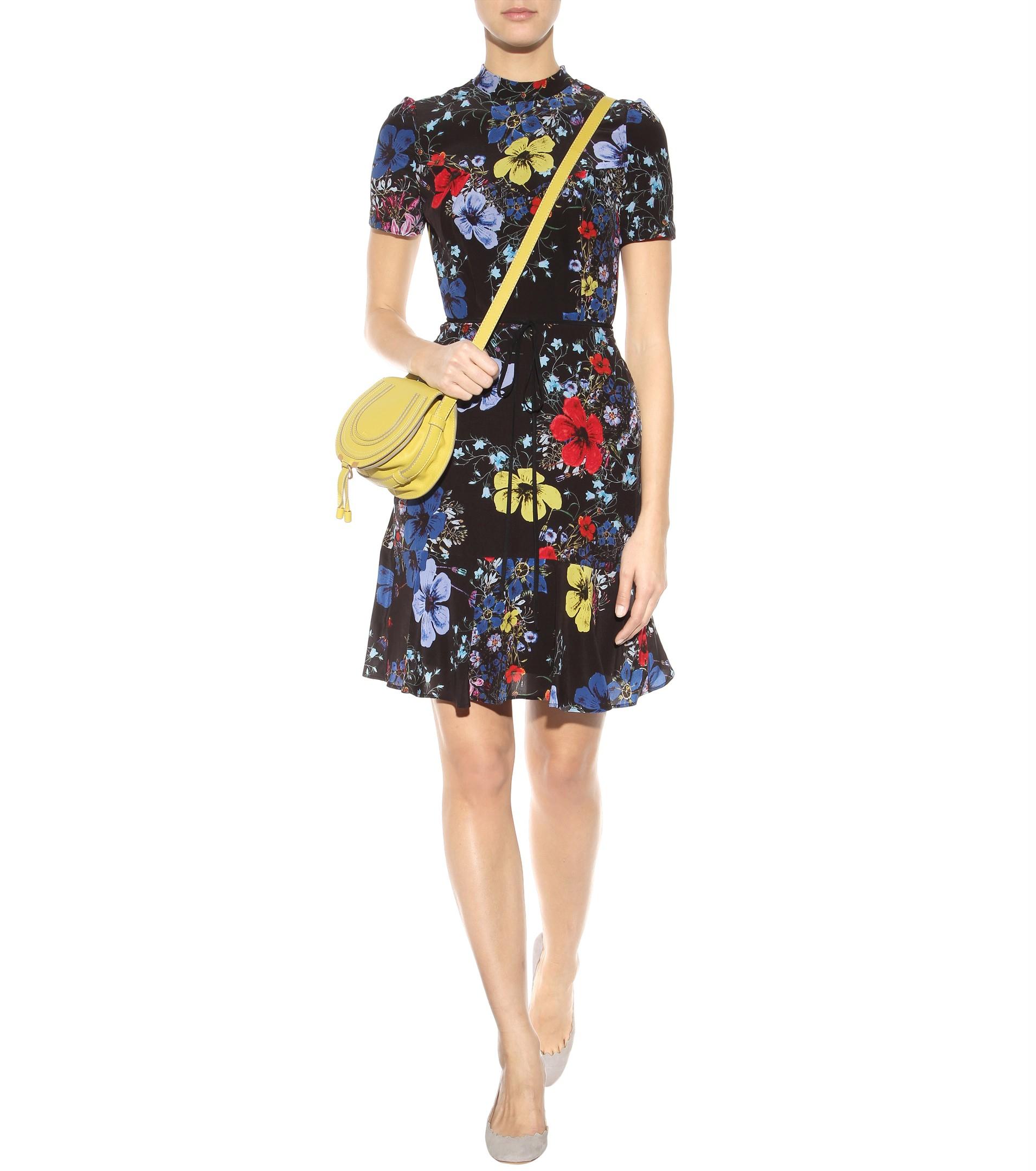 chloe python handbag - Chlo�� Marcie Small Leather Shoulder Bag in Yellow | Lyst
