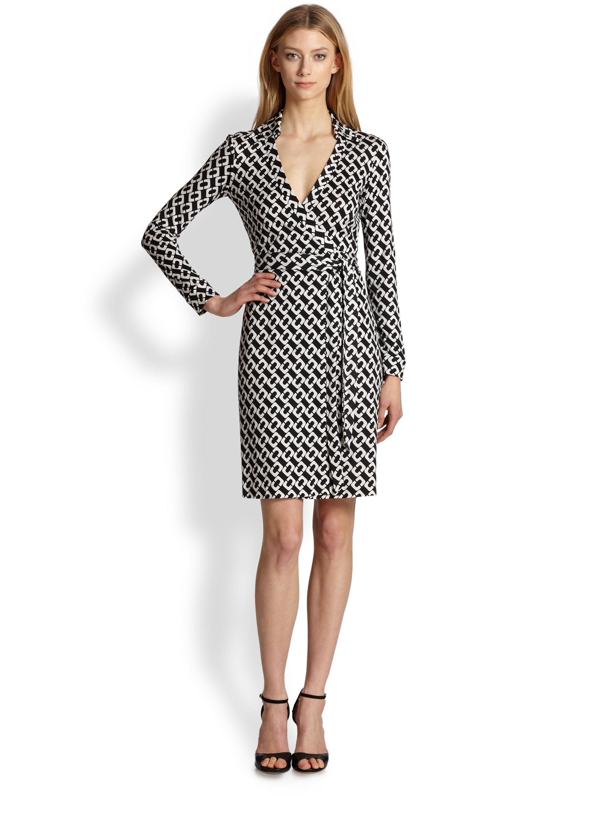 Dvf Wrap Dress Size 14 Sale View Fullscreen