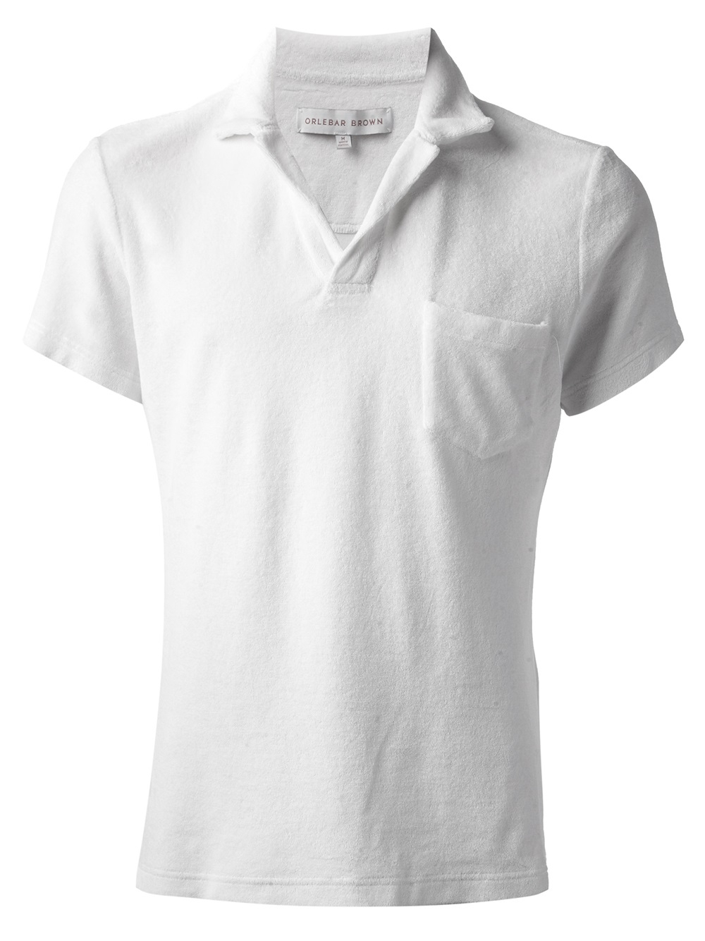 8c97ccc8a39c57 Lyst - Orlebar Brown Terry Polo Shirt in White for Men