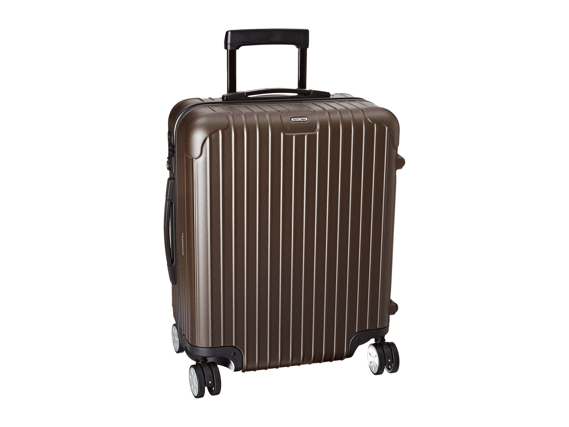 rimowa salsa multiwheel in brown matte bronze lyst. Black Bedroom Furniture Sets. Home Design Ideas