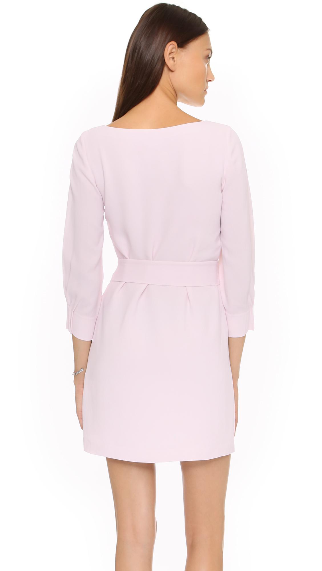 lyst  club monaco twyla dress  softest pink in pink