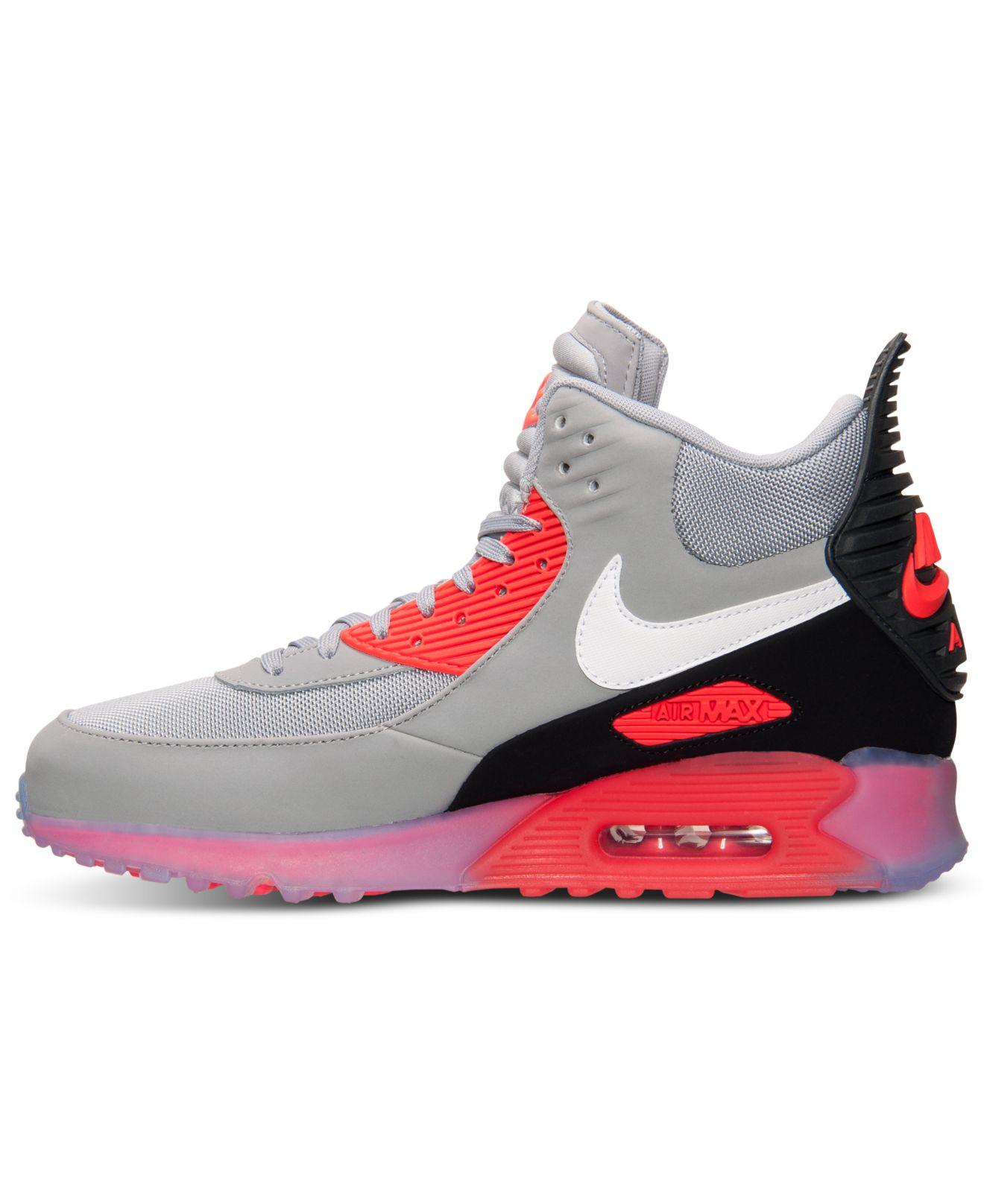 nike air max 1, Nike Air Max 90 Boots Black Red,nike air max