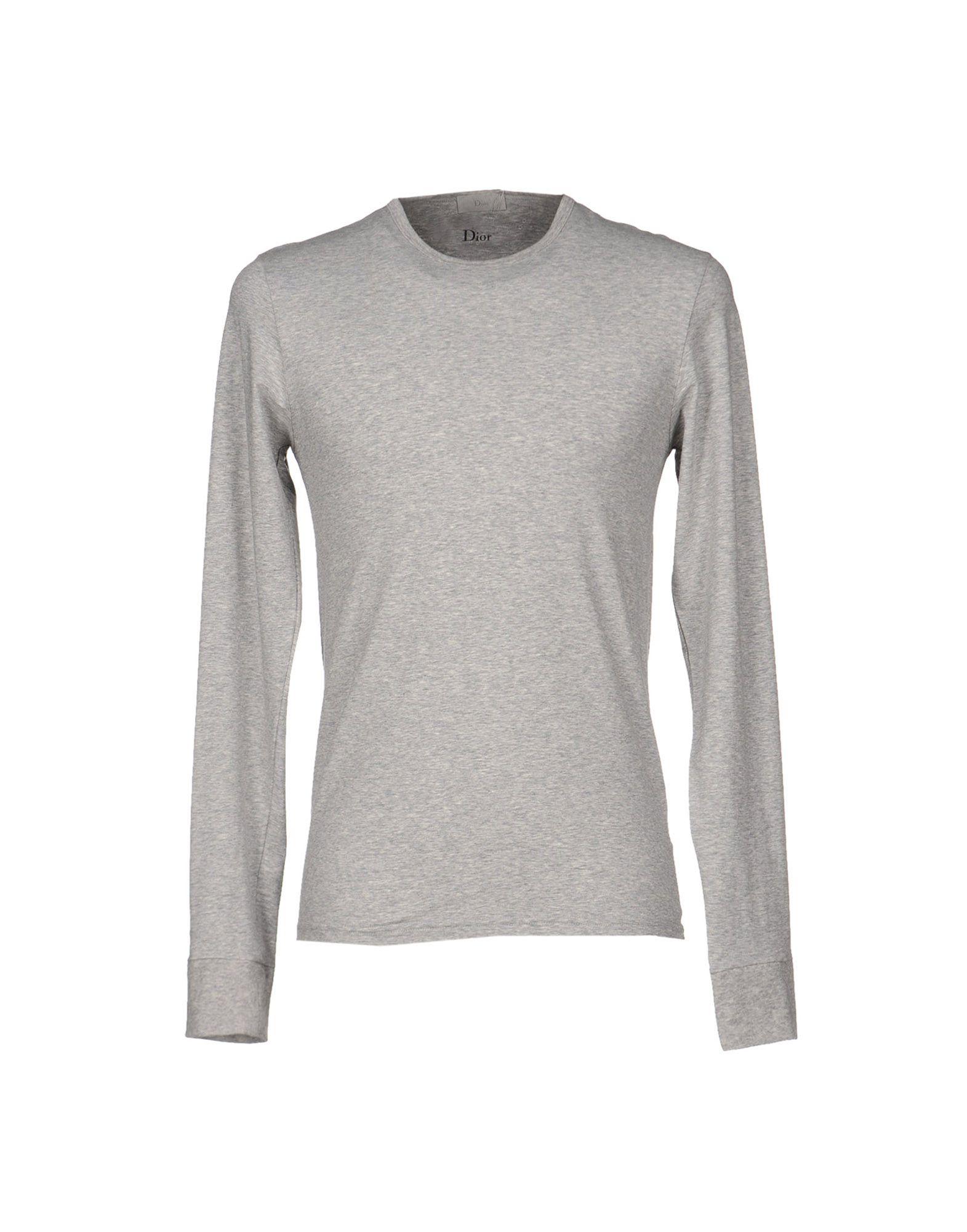 dior homme tshirt in gray for men grey lyst. Black Bedroom Furniture Sets. Home Design Ideas