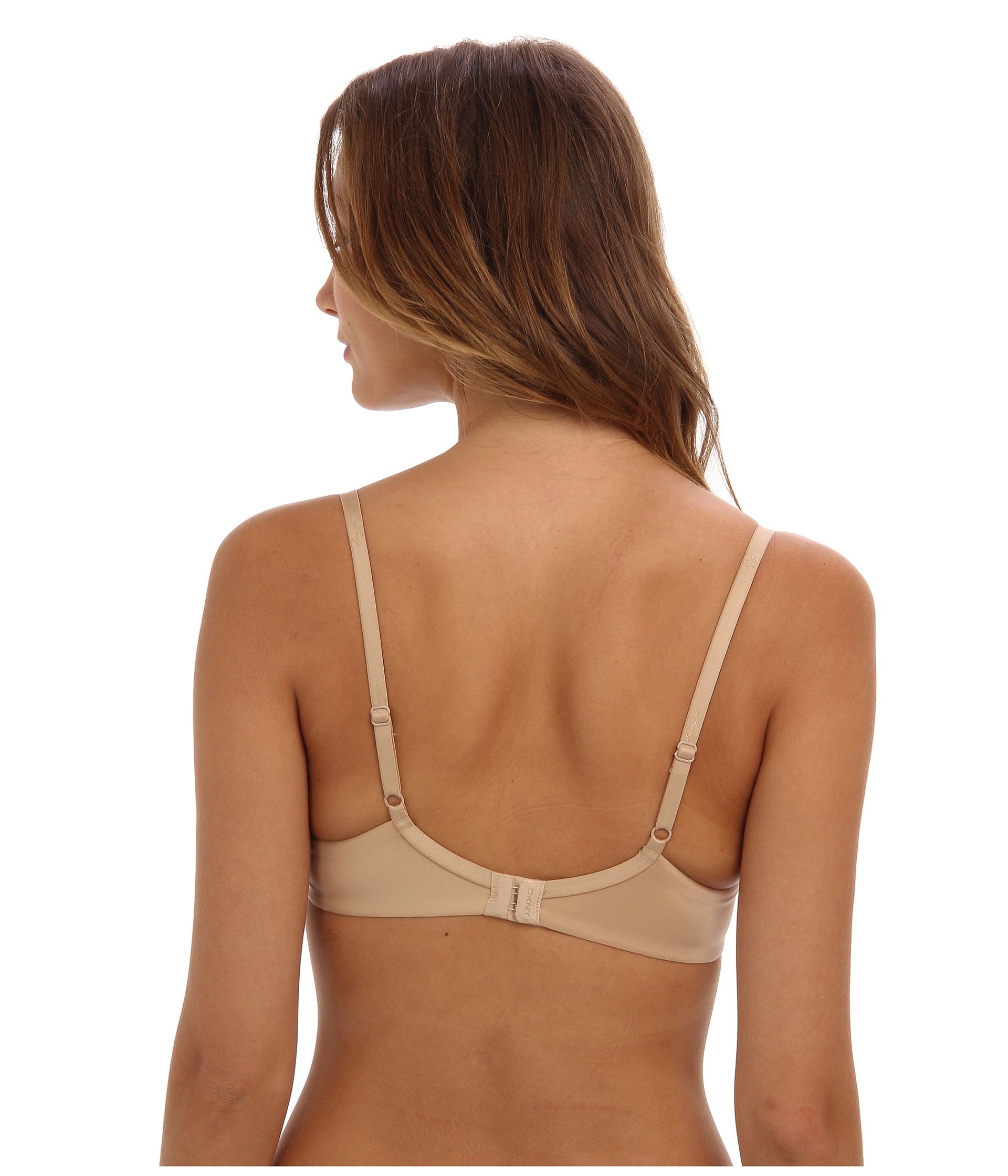 Dkny Simply Perfect Demi Bra 453266 in Metallic
