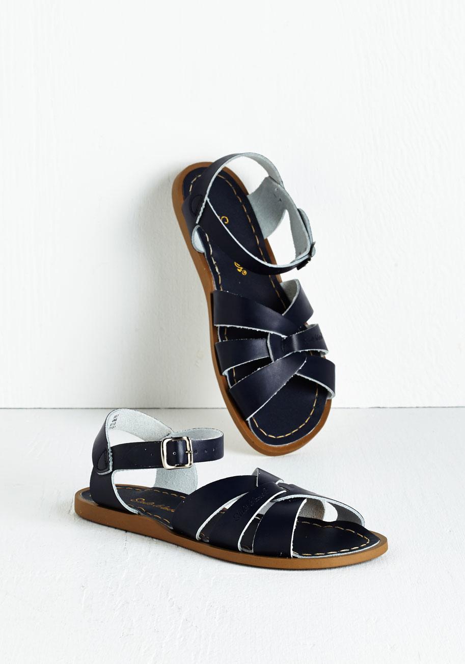 salt water salt water sandal in blue in blue lyst. Black Bedroom Furniture Sets. Home Design Ideas