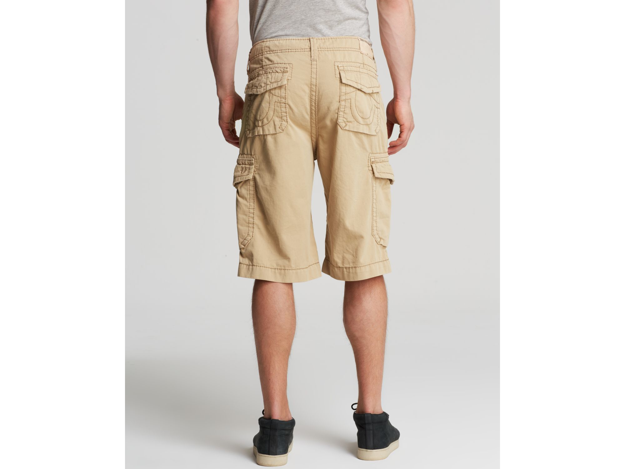 0a49372baf True Religion Trooper Cargo Shorts in Natural for Men - Lyst