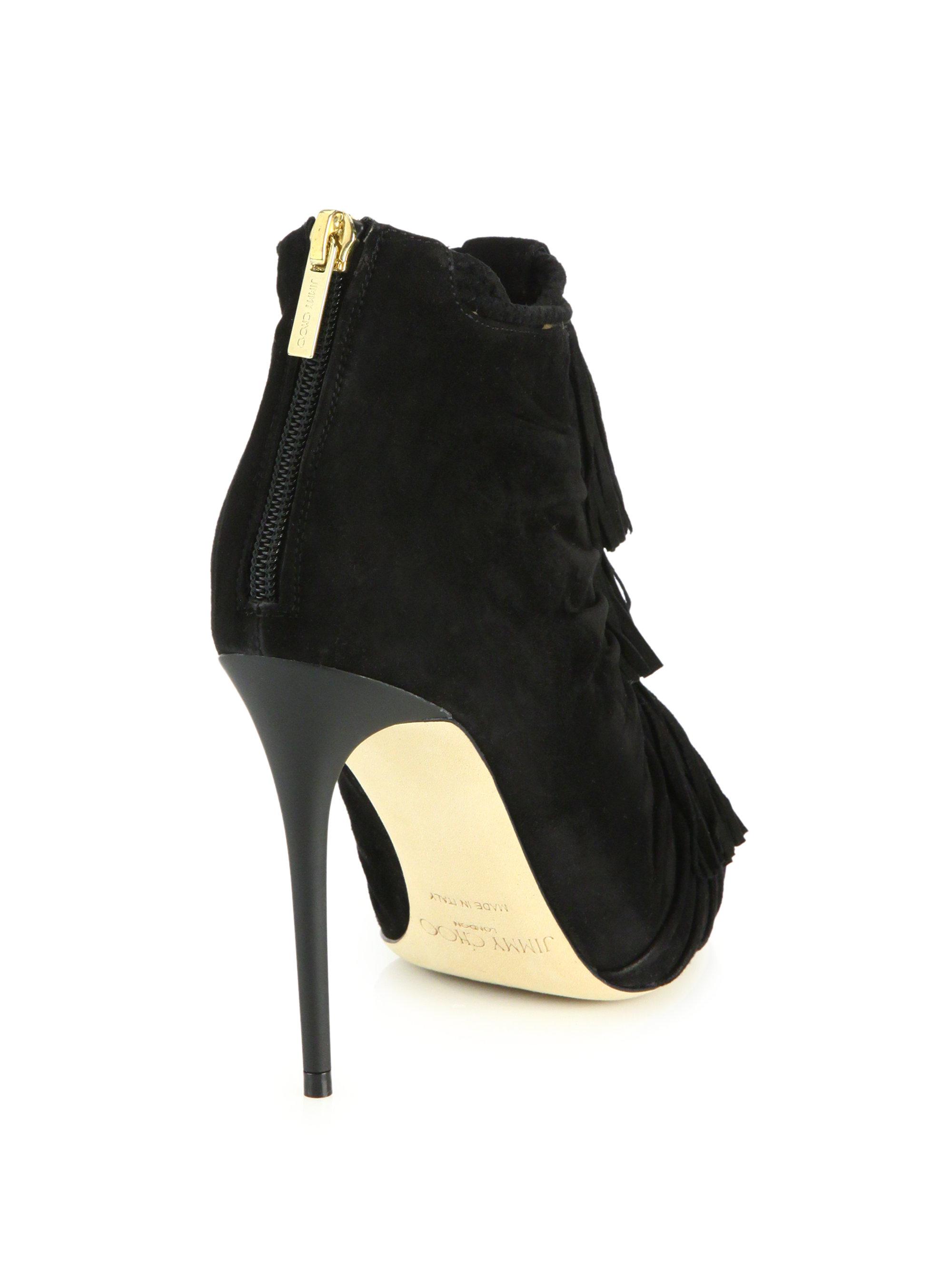 deals online Jimmy Choo Suede Tassel Boots outlet classic sale online store Bftjk