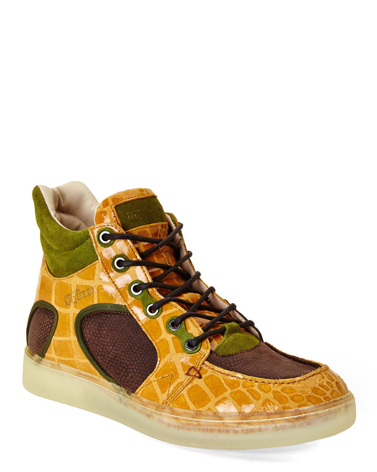38c597c56ea Lyst - Alexander McQueen X Puma Joust Iii High-top Sneakers in ...