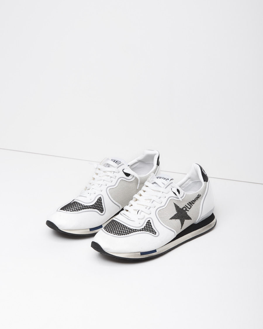 e67b45107 Golden Goose Deluxe Brand Mesh Running Sneaker in Gray - Lyst