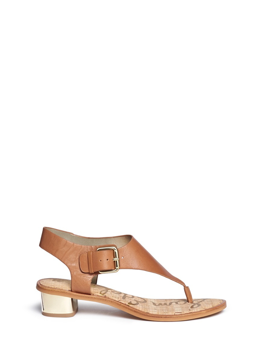 cheap eastbay outlet excellent Sam Edelman Buckle Thong Sandals clearance store online prices sale online fHy7GbKBWJ