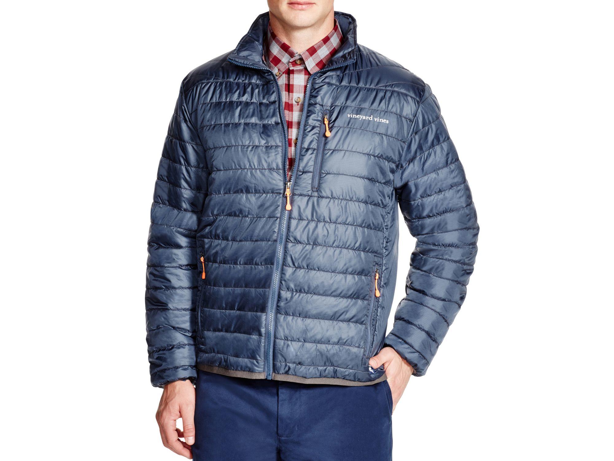 Lyst Vineyard Vines Mountain Weekend Jacket In Blue For Men