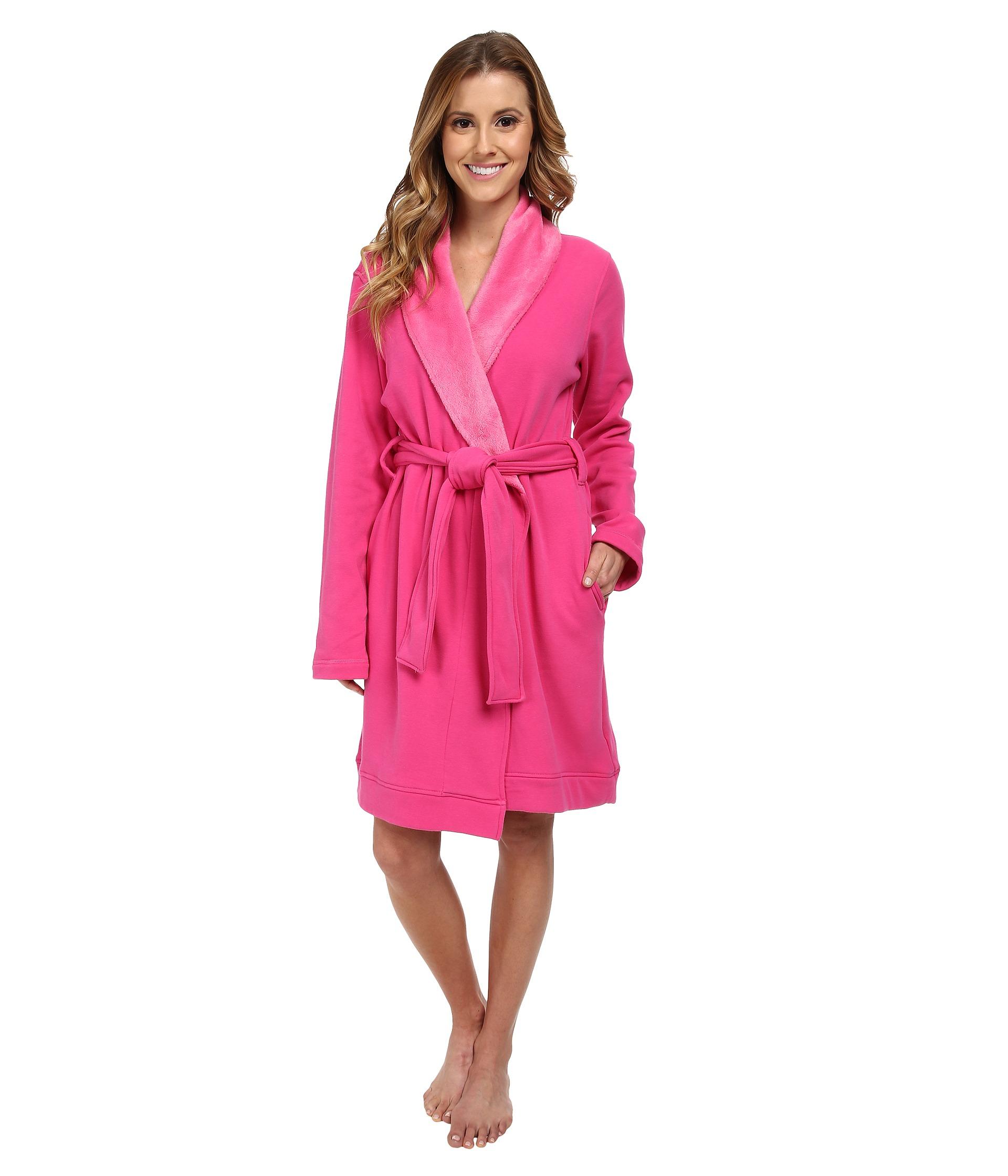 ugg blanche robe in pink lyst. Black Bedroom Furniture Sets. Home Design Ideas