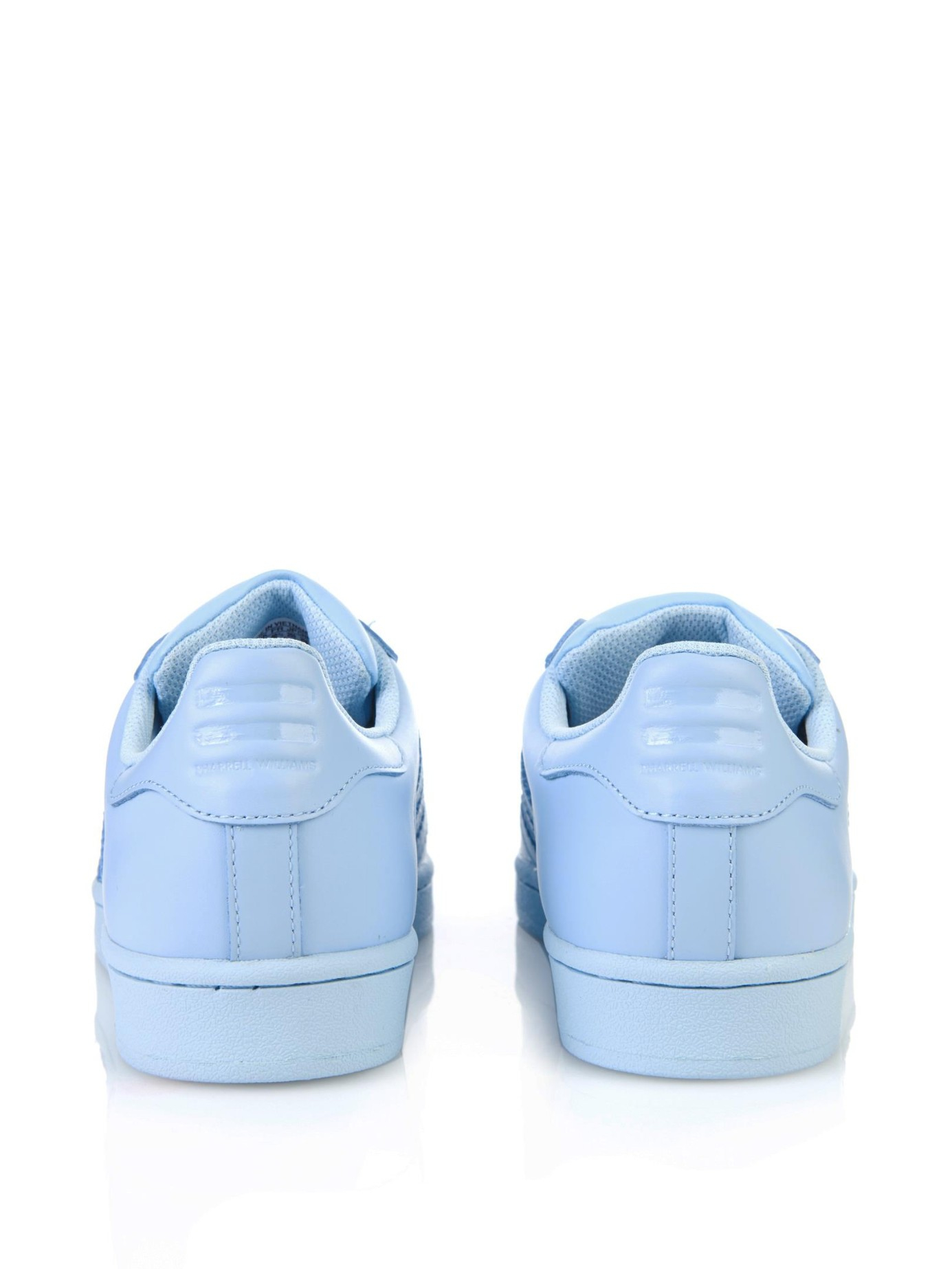 adidas superstar light blue