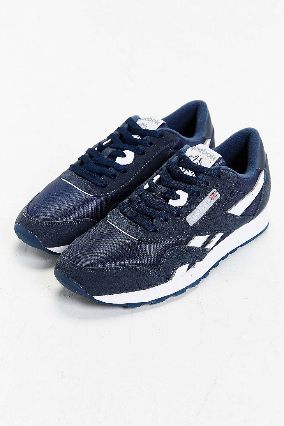827a3e8f74321 Lyst - Reebok Classic Nylon Sneaker in Blue for Men