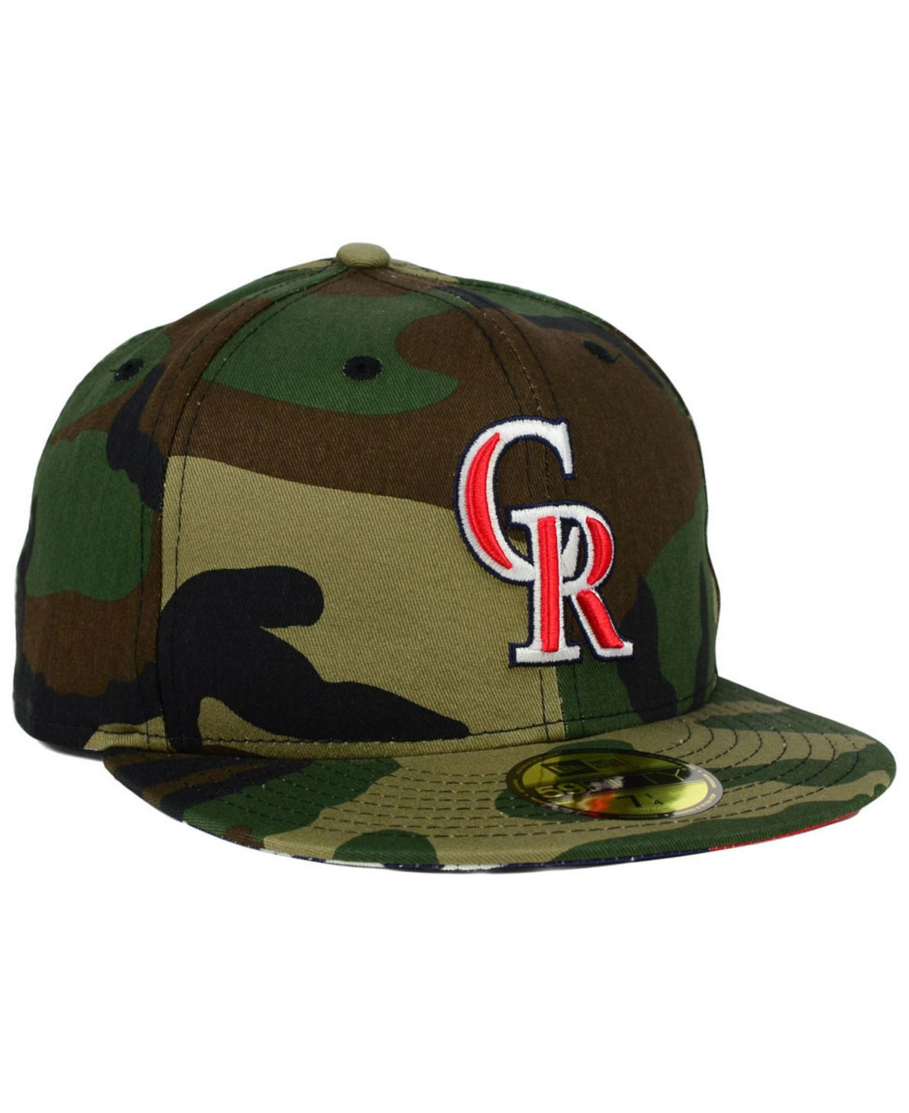 pretty nice 0e4d2 0ee91 ... 9 11 memorial 9forty cap 20269 bf98f  norway lyst ktz colorado rockies  under woodland 59fifty cap in green for men 76d53 9cc7a