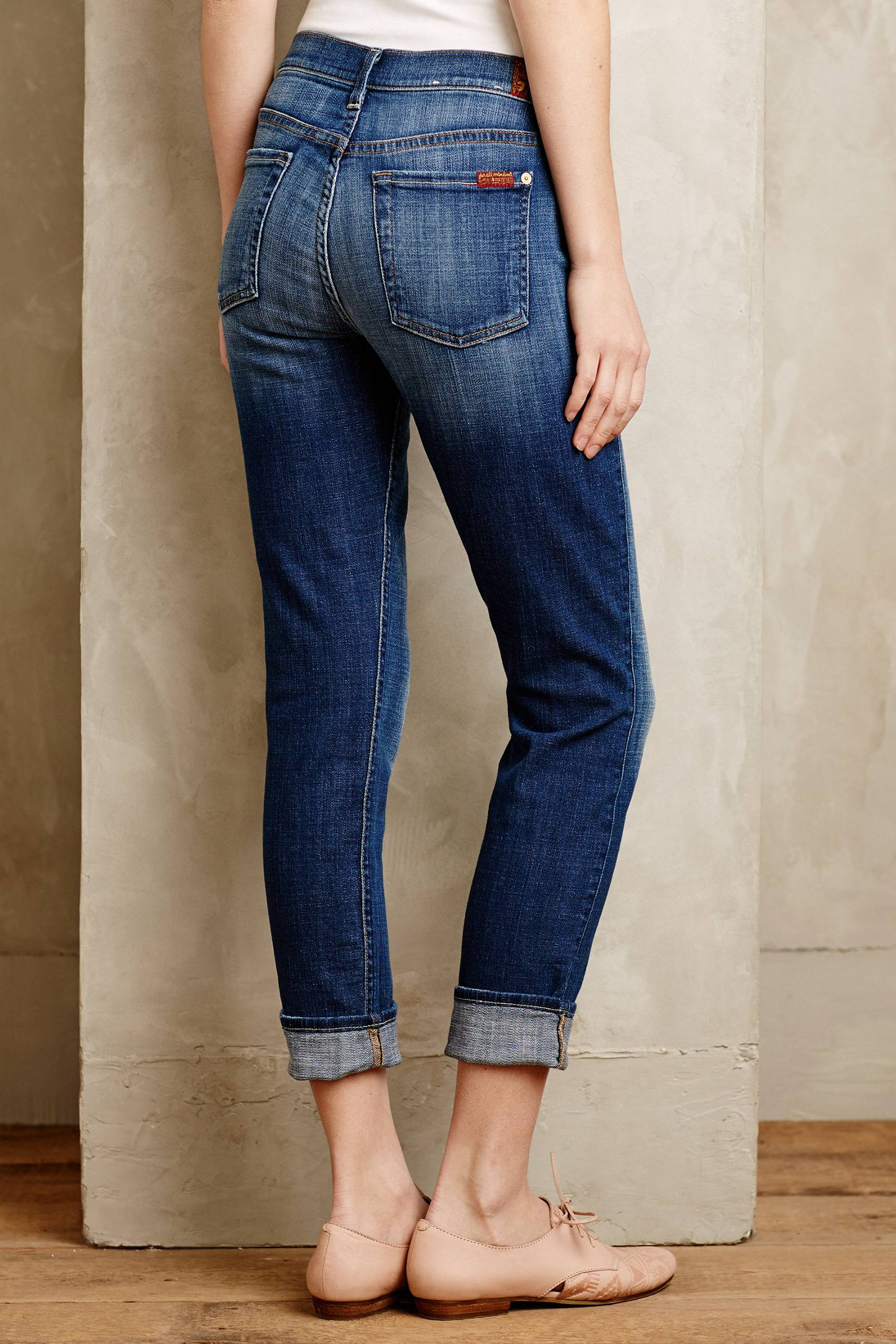 7 for all mankind 7 For All Mankind Relaxed Skinny Girlfriend ...