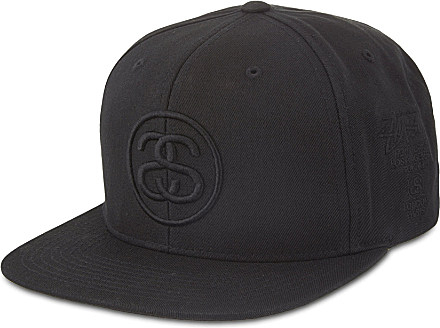Stussy Ss-Link Tour Snapback Cap - For Men in Black for Men - Lyst c9b59f14b39