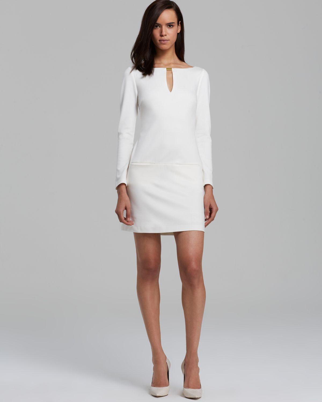 Trina turk Dress Leatrice in White  Lyst