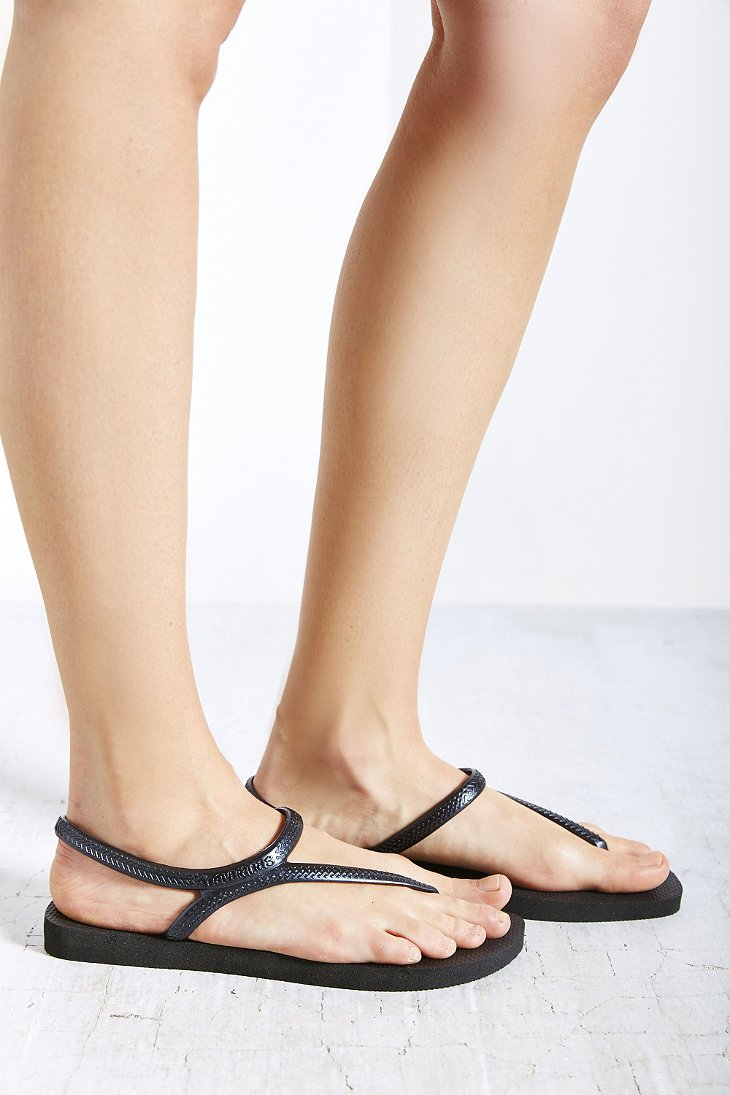 Lyst Havaianas Flash Urban Sandal In Black