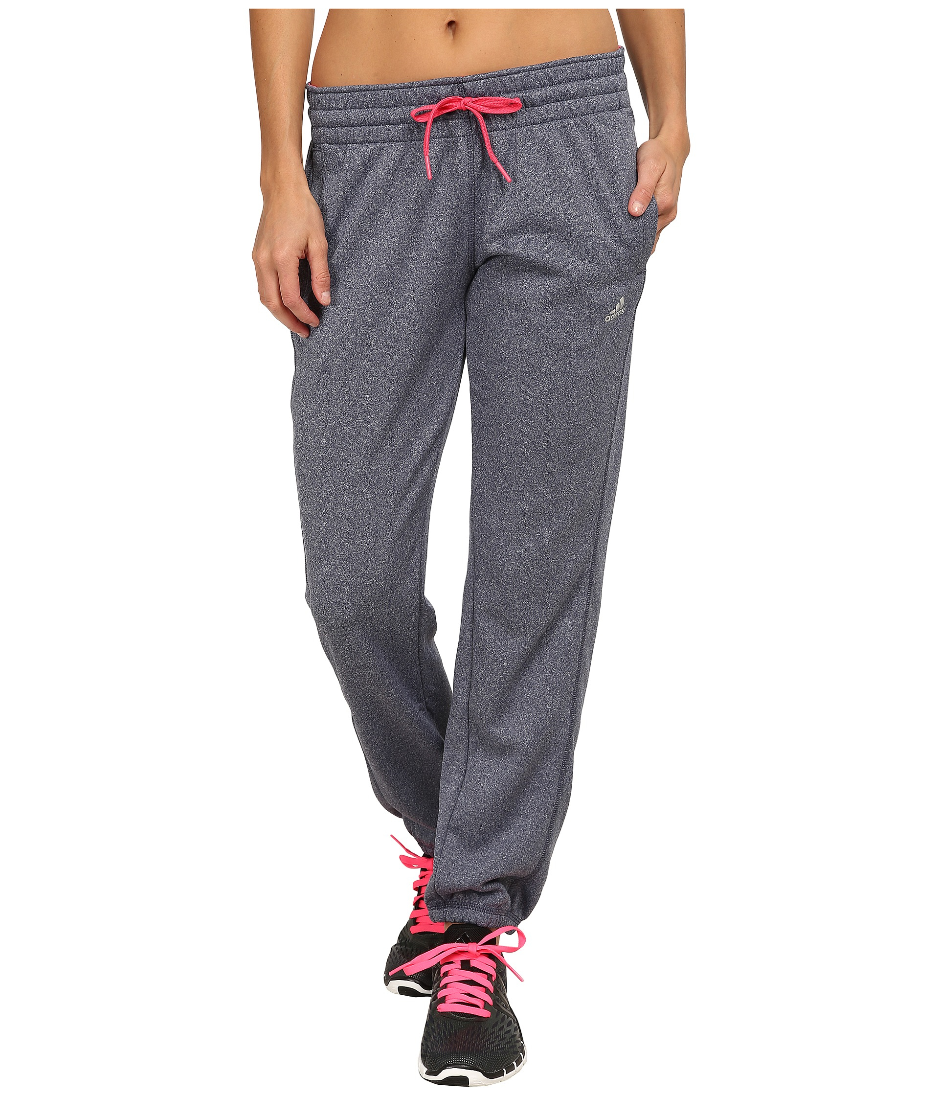 43bf8da2be03 Lyst - adidas Ultimate Fleece Banded Pants in Blue