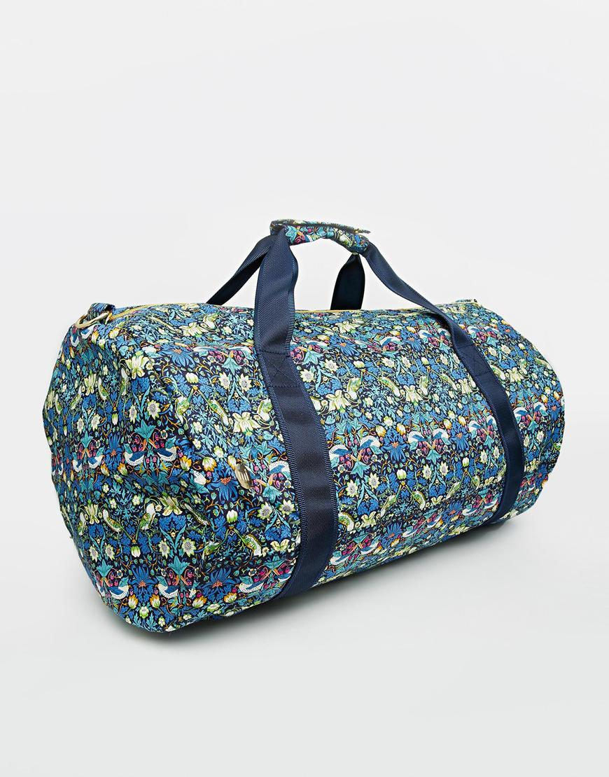 Lyst - Mi-Pac X Liberty Floral Print Duffle Bag