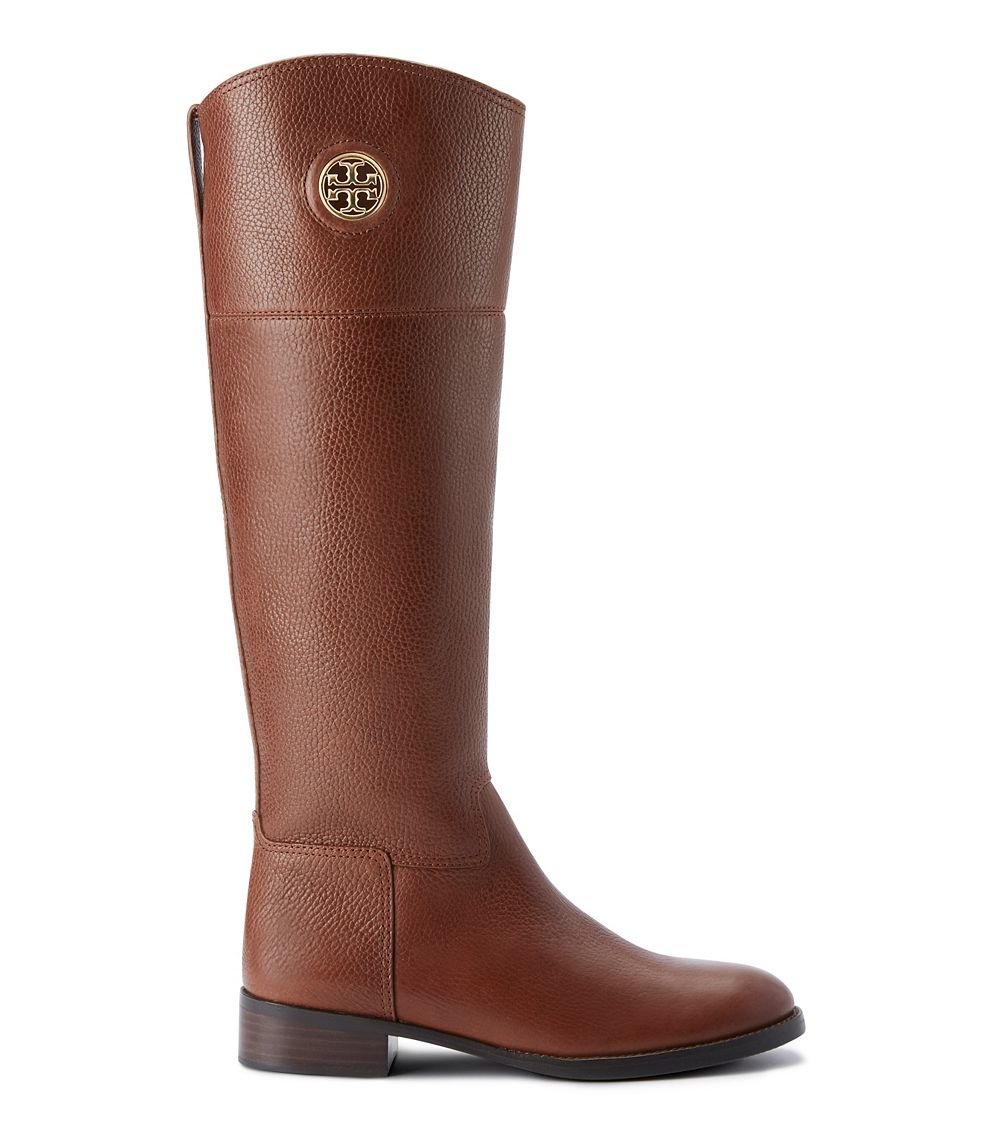 Tory burch Junction Riding Boot in Brown | Lyst