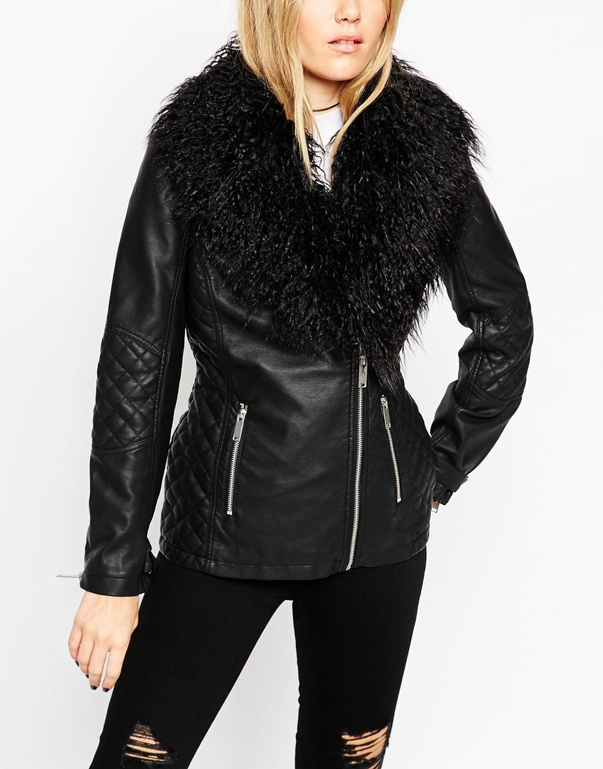 Free shipping and returns on Women's Black Fur & Faux-Fur Coats & Jackets at jomp16.tk