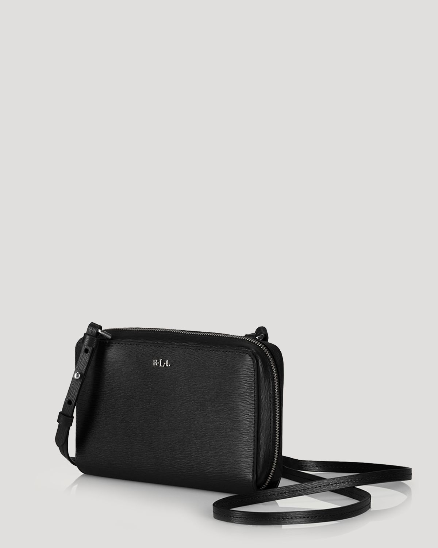 eaca913cf6a8 Lyst - Ralph Lauren Crossbody Tate Multi Function in Black
