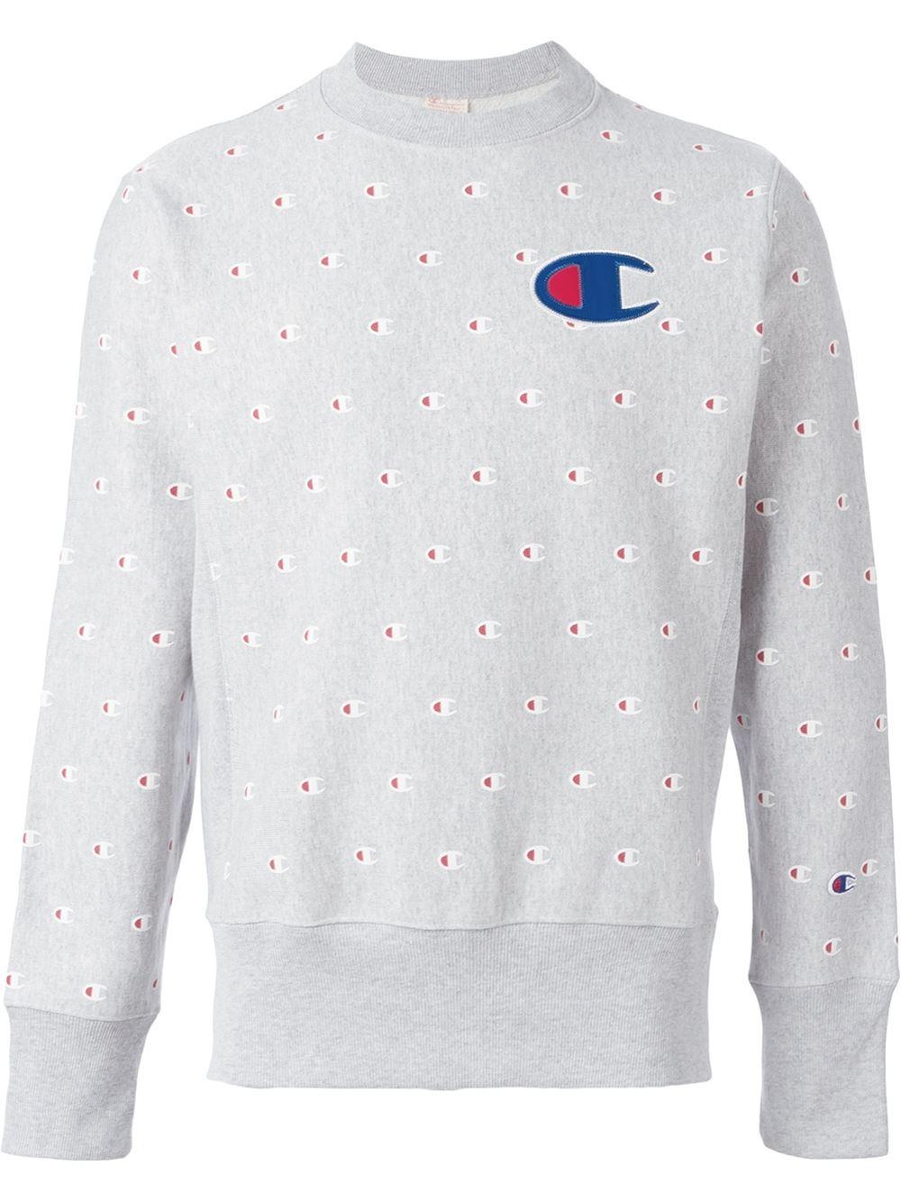 White Champion Sweater Photo Album - Fashion Trends and Models