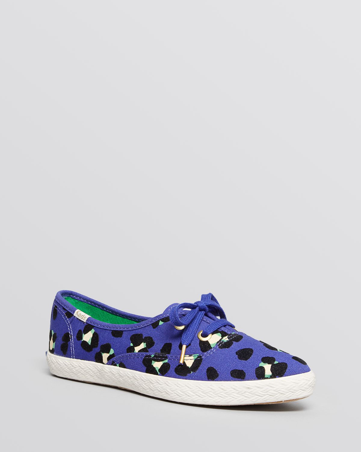 c6f438847bfa Kate Spade Keds® For Pointed Toe Flat Lace Up Sneakers - Pointer Leo ...