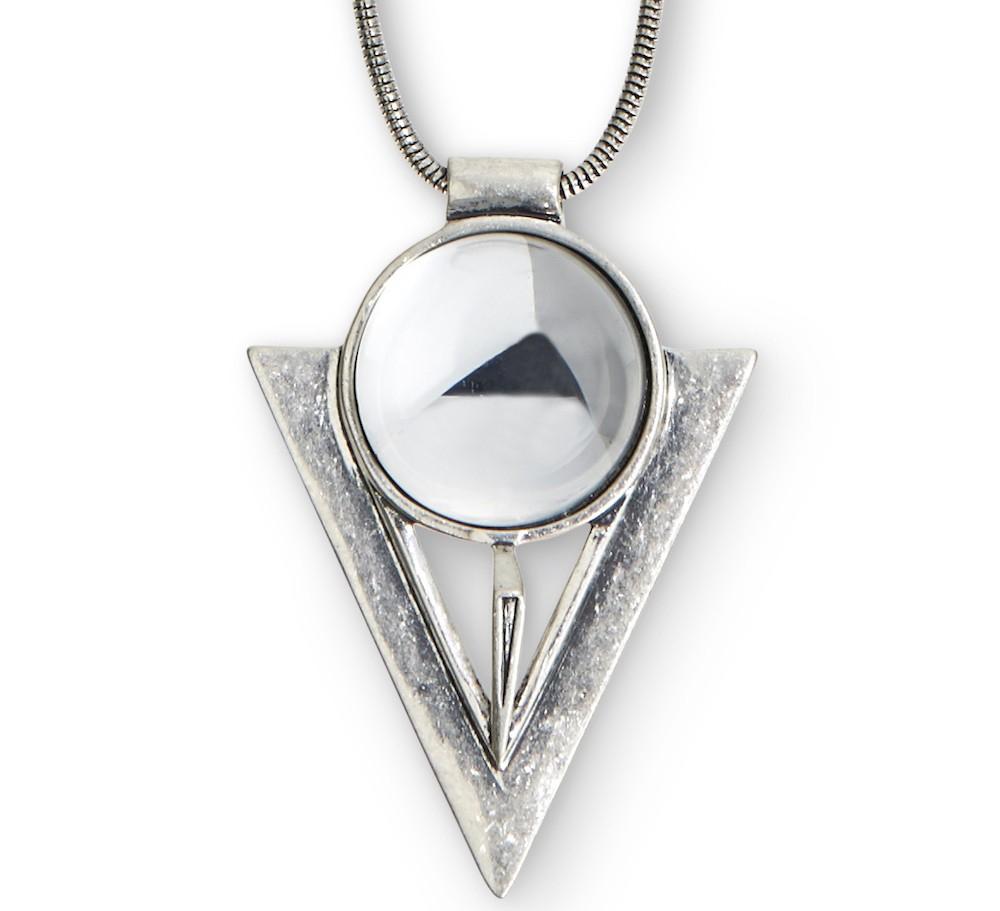 jenny bird bowie pendant in metallic lyst