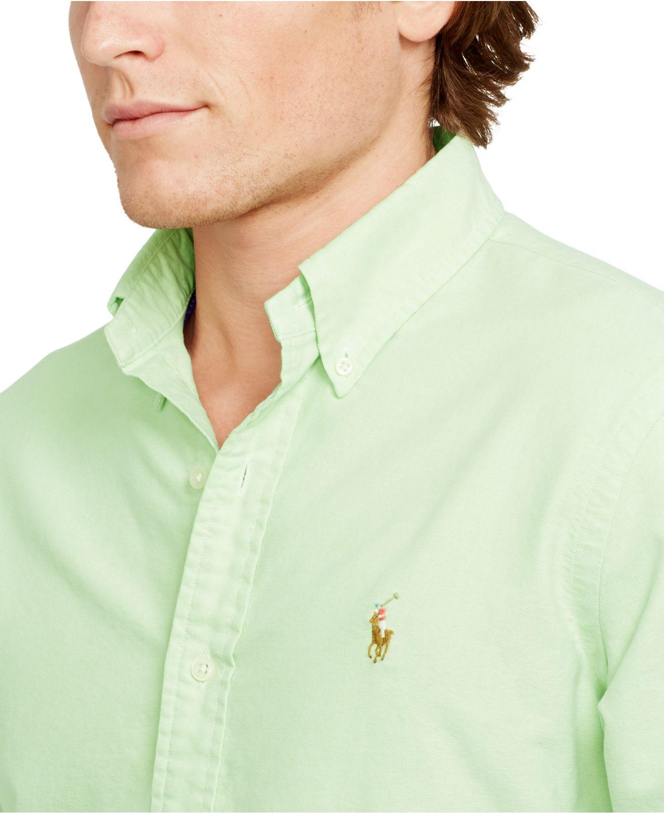 Lime Green Mens Shirt Uk Summer Cook