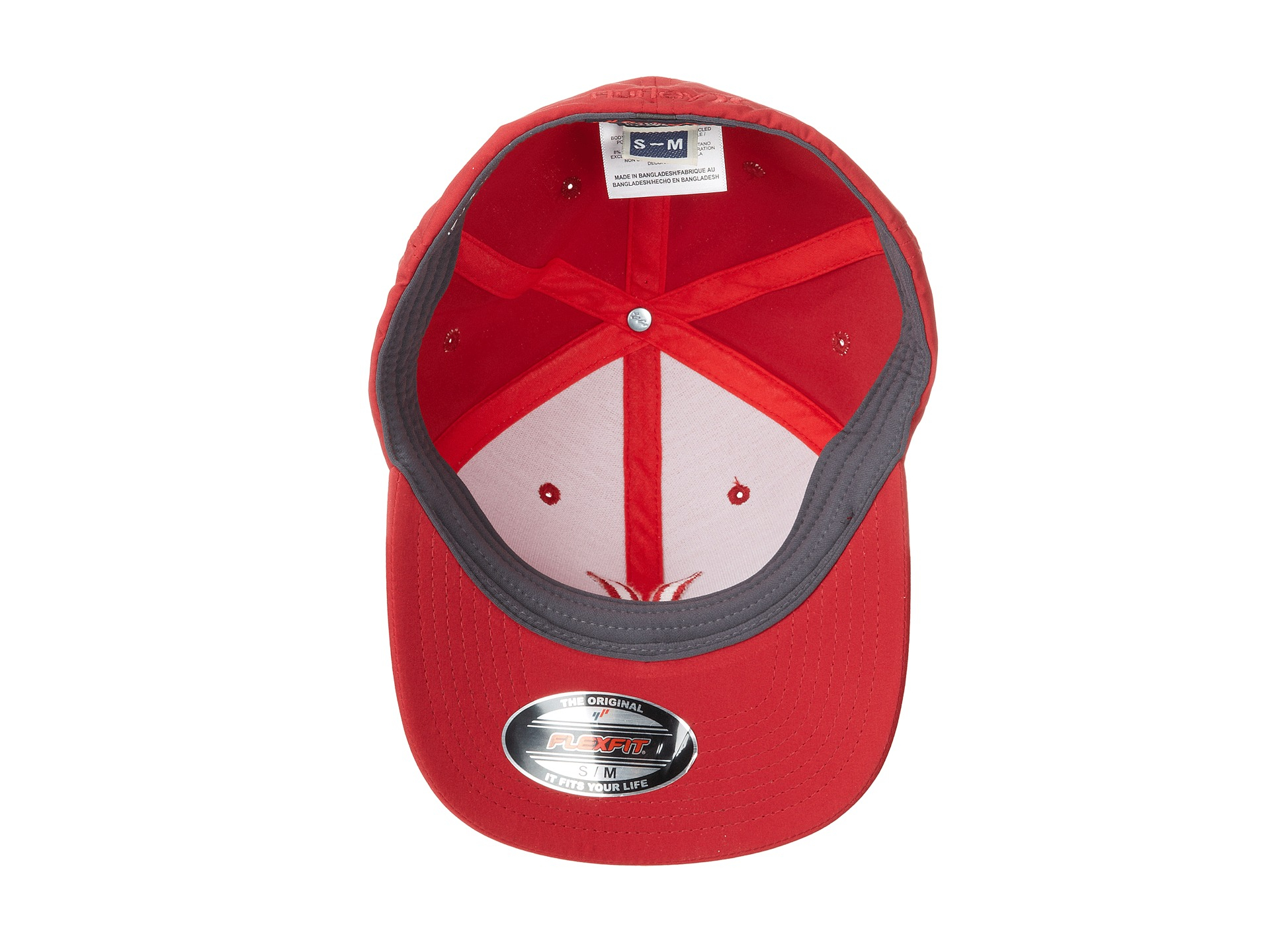 3cab7af8 ... where to buy lyst hurley phantom one only flexfit permacurve hat in red  for men b8d7a