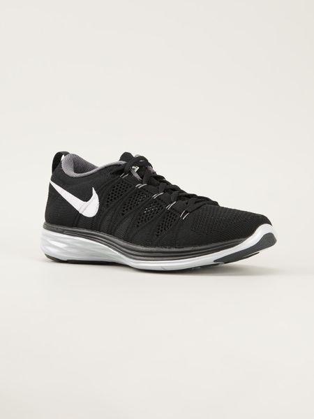 Nike Flyknit Lunar 2 Trainer In Black For Men Lyst