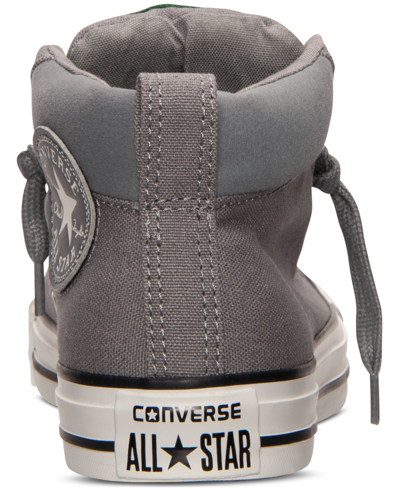 d79e5aa1db82 Lyst - Converse Men s Chuck Taylor Street Mid Casual Sneakers From ...