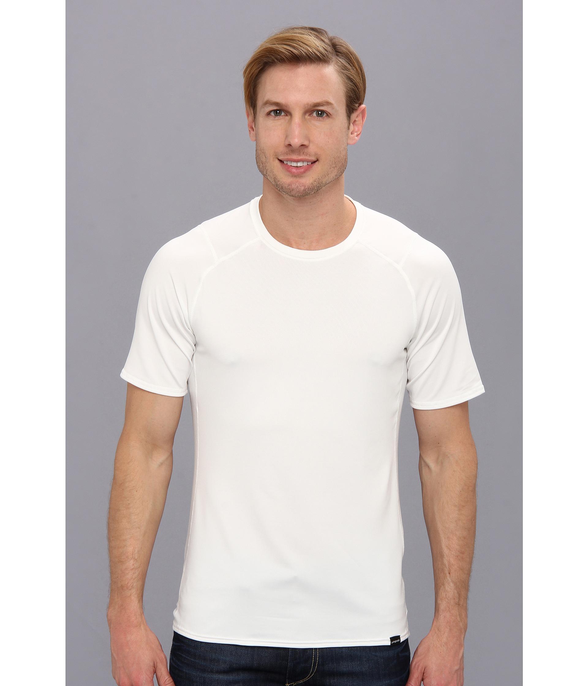 Patagonia Capilene® 1 Silkweight T-Shirt In White