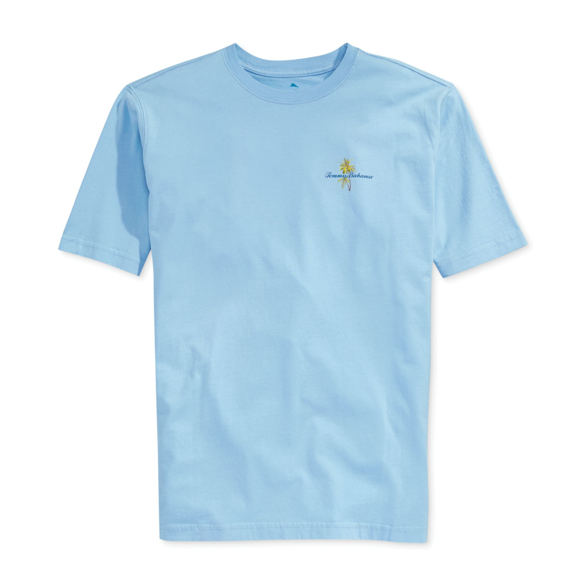 Tommy bahama floating holiday tshirt in blue for men lyst for Tommy bahama christmas shirt 2014