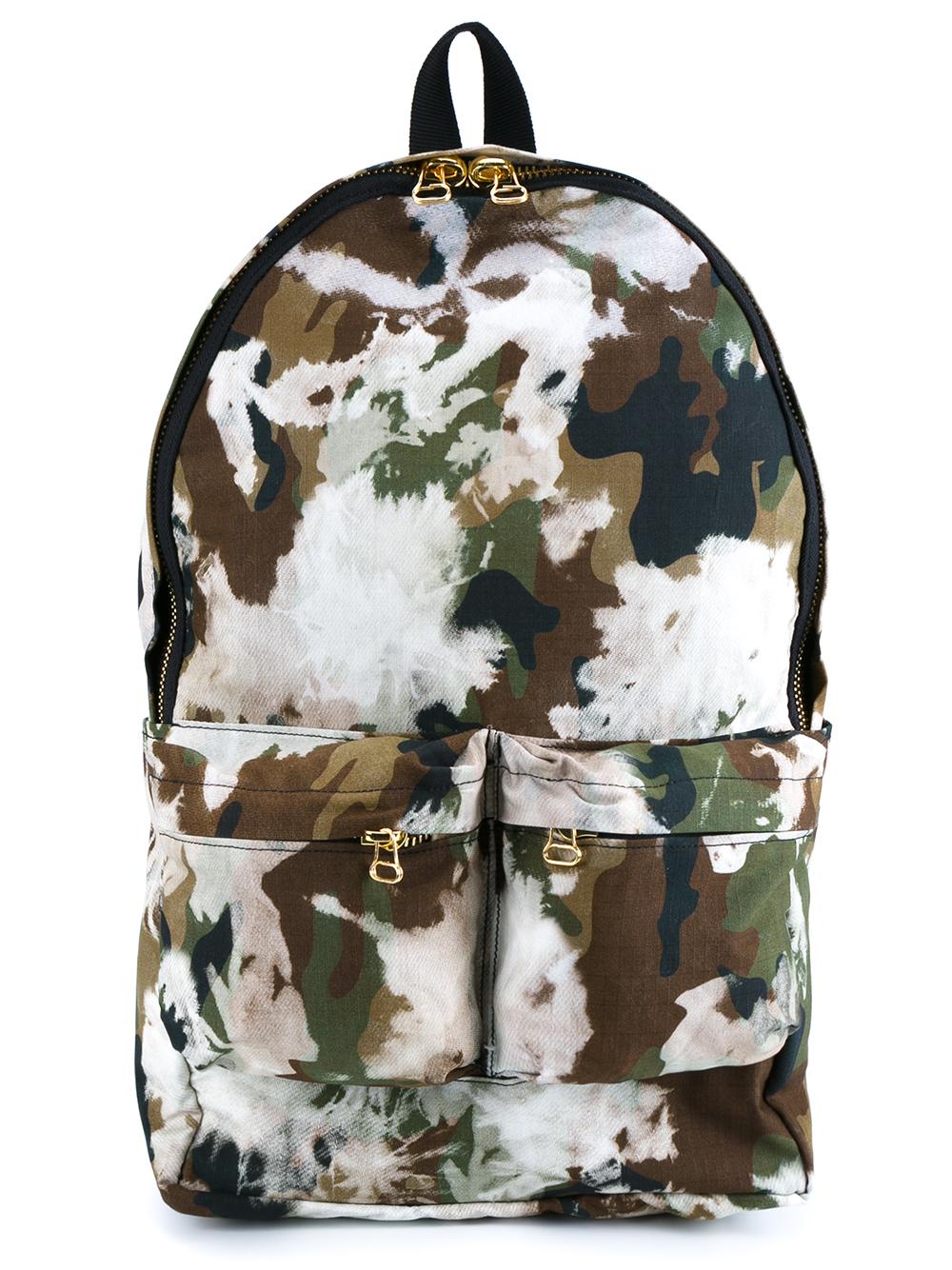 off white c o virgil abloh backpack all over camouflage. Black Bedroom Furniture Sets. Home Design Ideas